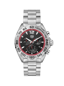 TAG Heuer Gents 43mm Formula 1 Stainless Steel Quartz Chronograph Watch on Bracelet CAZ101Y.BA0842