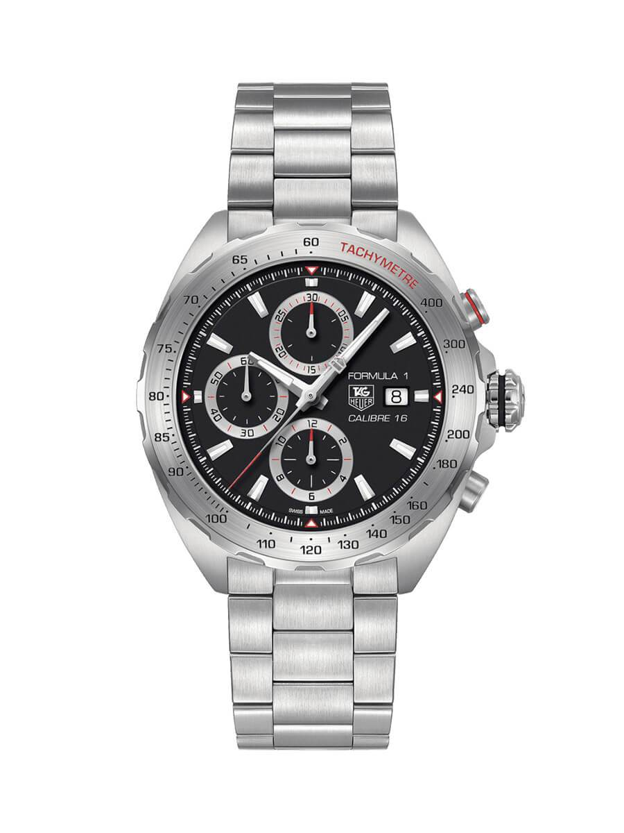 TAG Heuer Gents 44mm Formula 1 Stainless Steel Automatic Chronograph Watch on Bracelet CAZ2010.BA0876