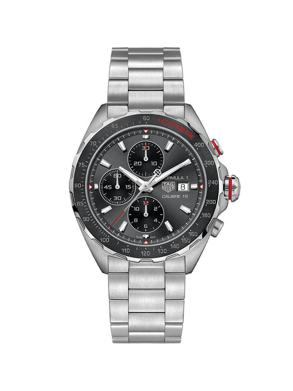 TAG Heuer Gents 44mm Formula 1 Stainless Steel Automatic Chronograph Watch on Bracelet