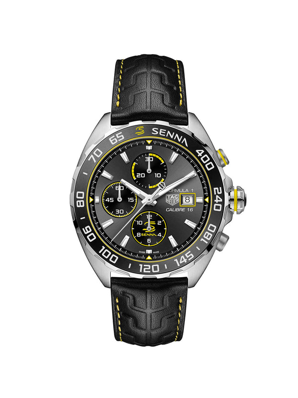 TAG Heuer Formula 1 Special Edition Ayrton Senna Gents Watch 44mm CAZ201B.FC6487