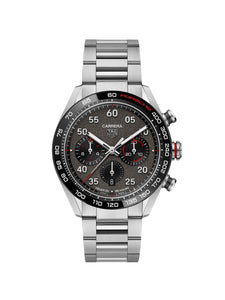 TAG Heuer Carrera Porsche HEUER 02 Automatic Chronograph Watch 44mm CBN2A1F.BA0643