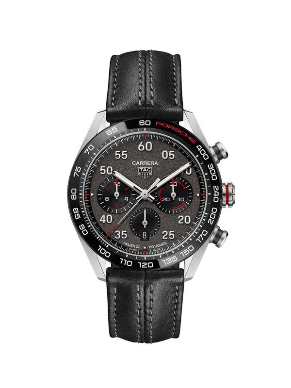 TAG Heuer Carrera Porsche HEUER 02 Automatic Chronograph Watch 44mm CBN2A1F.FC6492