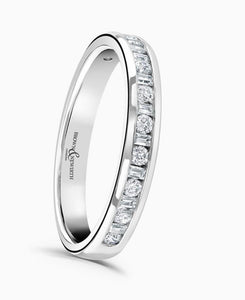 Brown & Newirth Charm 0.33ct Diamond Eternity Ring in 9ct White Gold