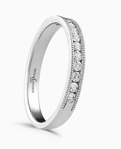 Brown & Newirth Everlasting 0.20ct Diamond Eternity Ring in 18ct White Gold