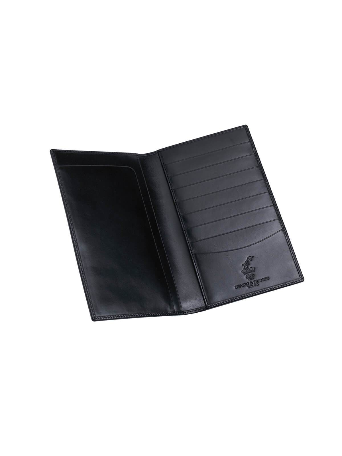 Deakin & Francis Black Leather Gents Chequebook Wallet G04160002