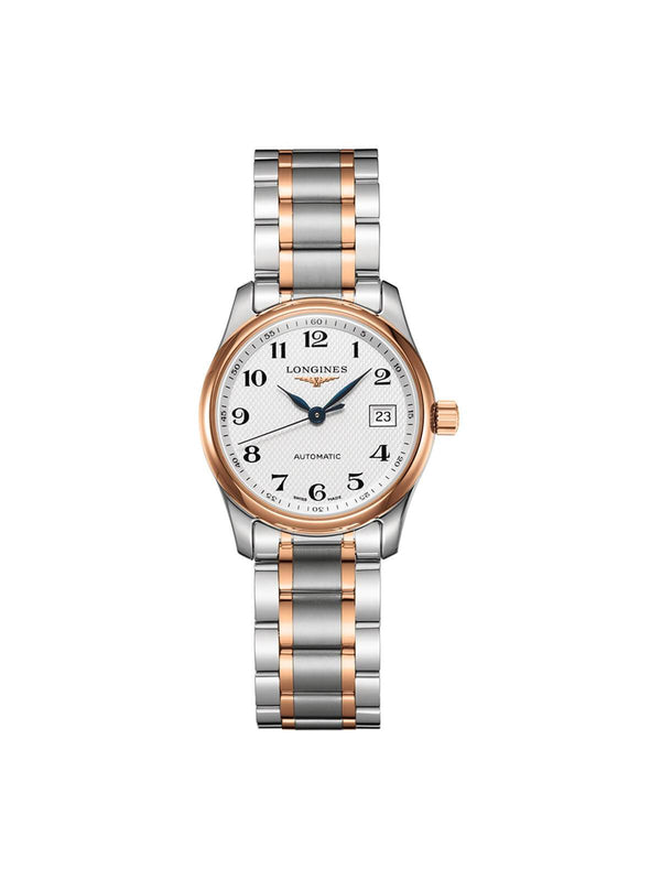 Longines Ladies 29mm Master Collection Bi-Colour Stainless Steel Automatic Watch on Bracelet L2.257.5.79.7