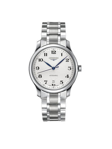 Longines Gents 38.5mm Master Collection Stainless Steel Automatic Watch on Bracelet L2.628.4.78.6