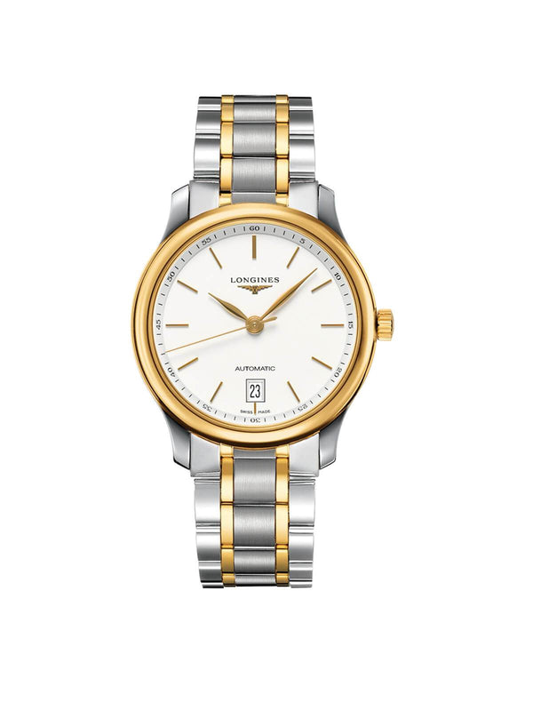 L2.628.5.12.7 Longines Gents 38.5mm Master Collection Steel & Gold Automatic Watch on Bracelet