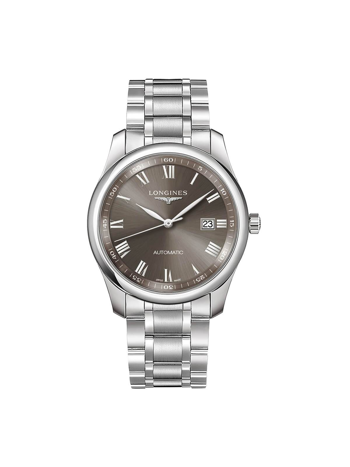 Longines Gents 40mm Master Collection Stainless Steel Automatic Watch on Bracelet L2.793.4.71.6