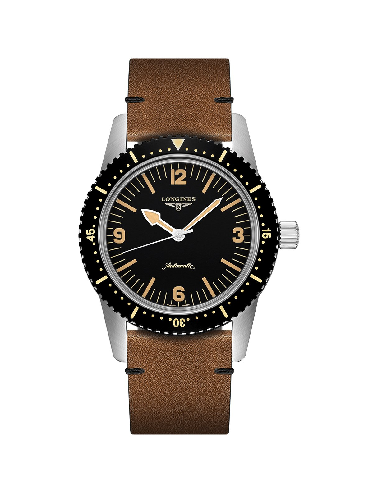 Longines Heritage Skin Diver Gents Watch 42mm L2.822.4.56.2