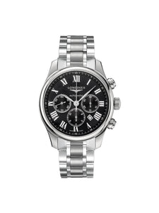 Longines Gents 44mm Master Collection Stainless Steel Automatic Chronograph Watch on Bracelet L2.859.4.51.6