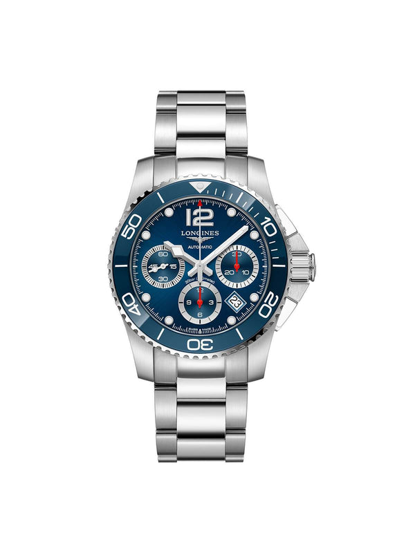 Longines Gents 41mm HydroConquest Stainless Steel Automatic Chronograph Watch on Bracelet L3.783.4.96.6