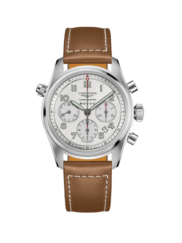 Longines Spirit Gents Chronograph Watch 42mm L3.820.4.73.2