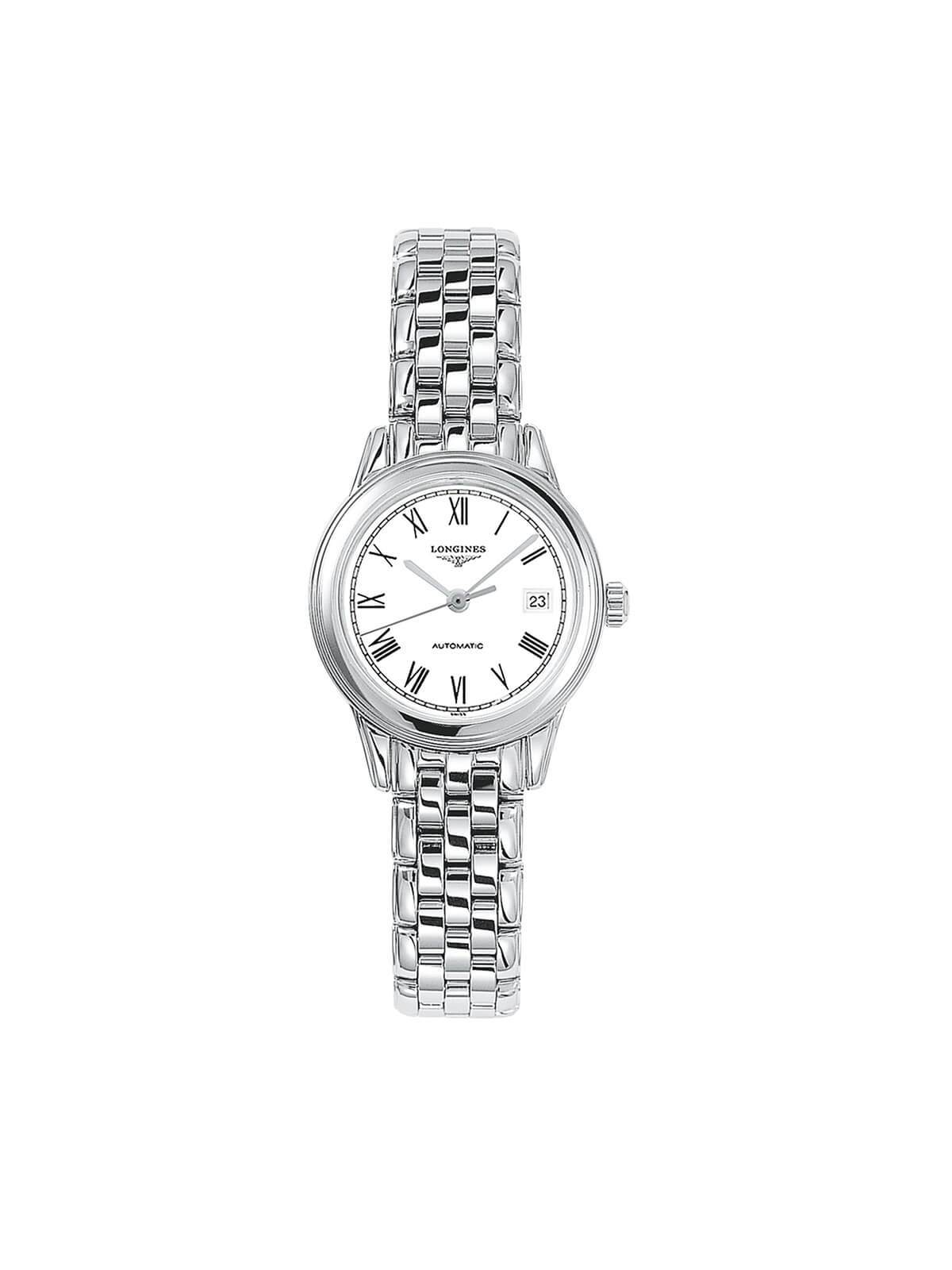 Longines Gents 26mm Flagship Stainless Steel Automatic Watch on Bracelet L4.274.4.11.6