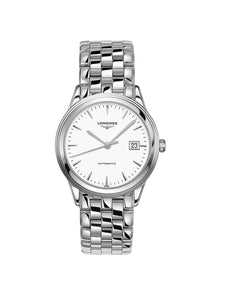 L4.974.4.12.6 Longines Gents 38.5mm Flagship Steel Automatic Watch on Bracelet