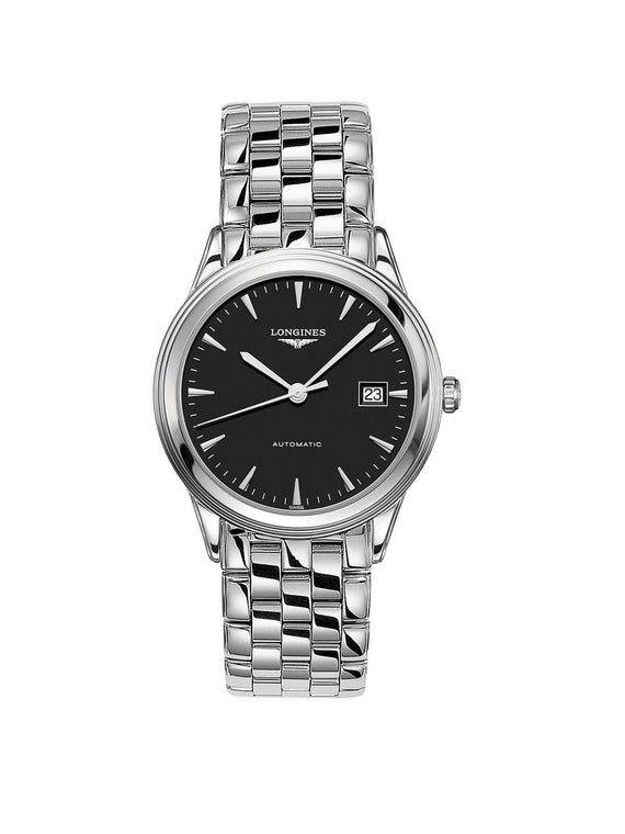 L4.974.4.52.6 Longines Gents 38.5mm Flagship Steel Automatic Watch on Bracelet