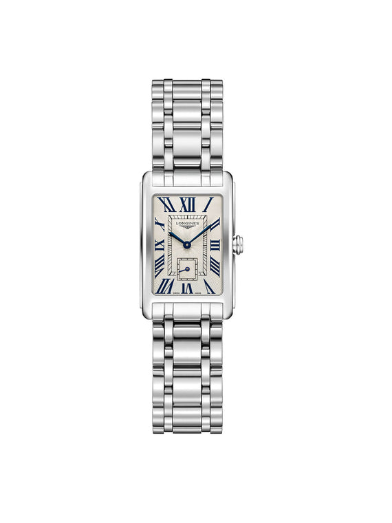 Longines Ladies 20.8 x 32mm DolceVita Stainless Steel Quartz Watch on Bracelet L5.255.4.71.6