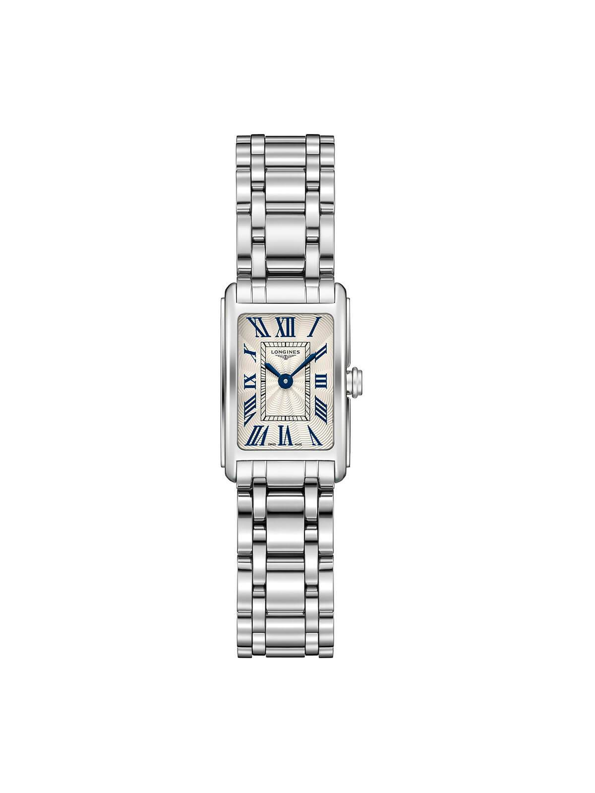 Longines Ladies 17.7 x 27mm DolceVita Stainless Steel Quartz Watch on Bracelet L5.258.4.71.6