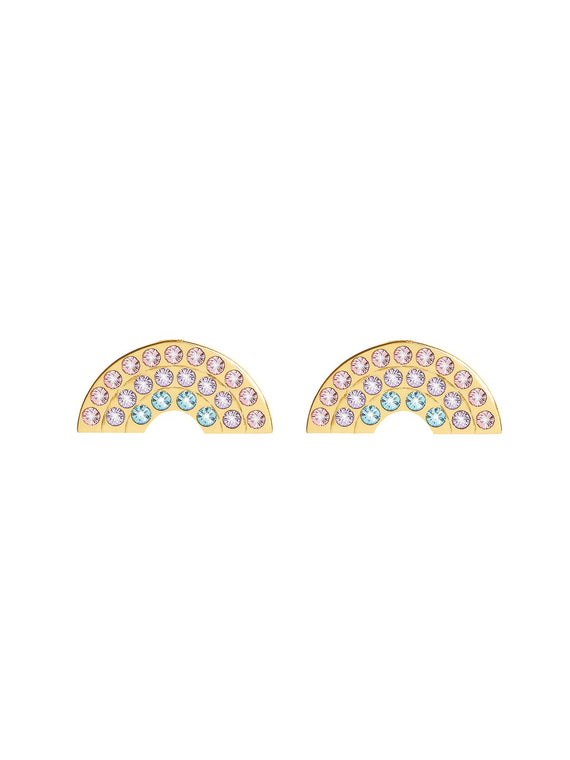 Olivia Burton Rainbow Earrings in Gold Plating OBJRBE04