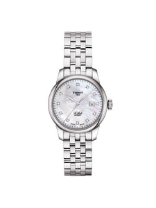 T006.207.11.116.00 Tissot Ladies 29mm Le Locle Steel Automatic Watch on Bracelet