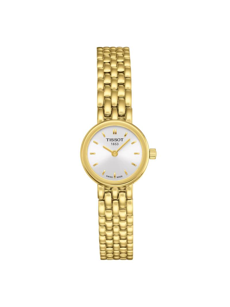 Tissot Ladies 19.5mm Lovely Gold PVD Stainless Steel Quartz Watch on Bracelet T058.009.33.031.00