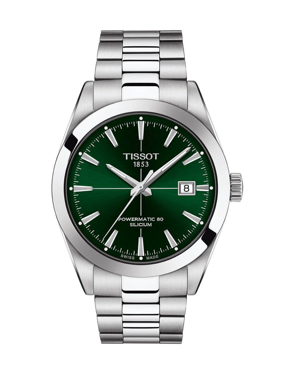 Tissot Gentleman Powermatic 80 Silicium Watch 40mm T127.407.11.091.01