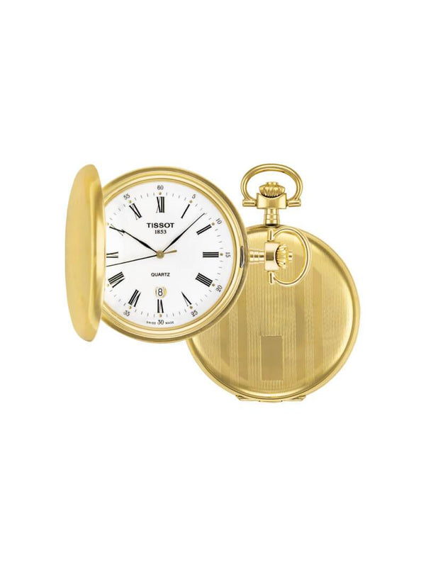 Tissot 48.5mm Savonette Quartz Pocket Watch T83.4.553.13