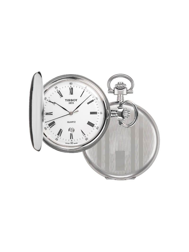 Tissot 48.5mm Savonette Quartz Pocket Watch T83.6.553.13