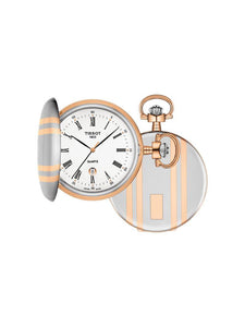 Tissot 48.5mm Savonette Quartz Pocket Watch T862.410.29.013.00
