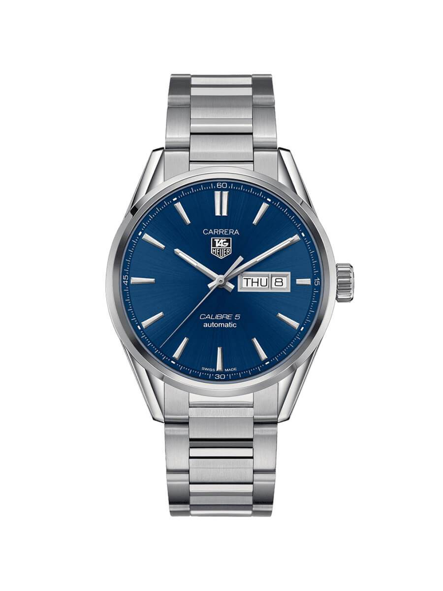 TAG Heuer Gents 41mm Carrera Stainless Steel Automatic Watch on Bracelet WAR201E.BA0723