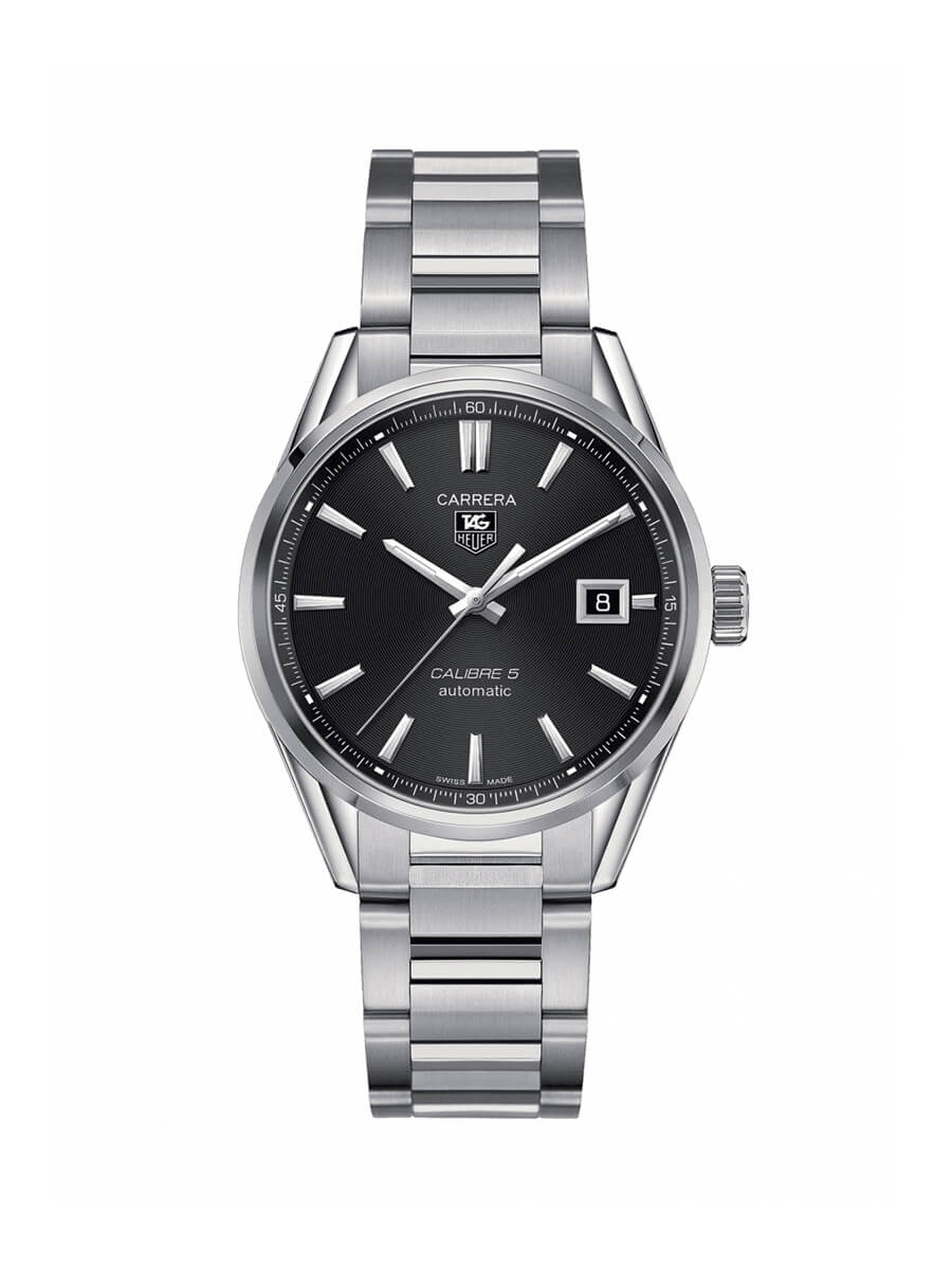 TAG Heuer Gents 39mm Carrera Stainless Steel Automatic Watch on Bracelet WAR211A.BA0782