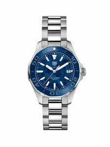 TAG Heuer Ladies 35mm Aquaracer Stainless Steel Quartz Watch on Bracelet WAY131S.BA0748