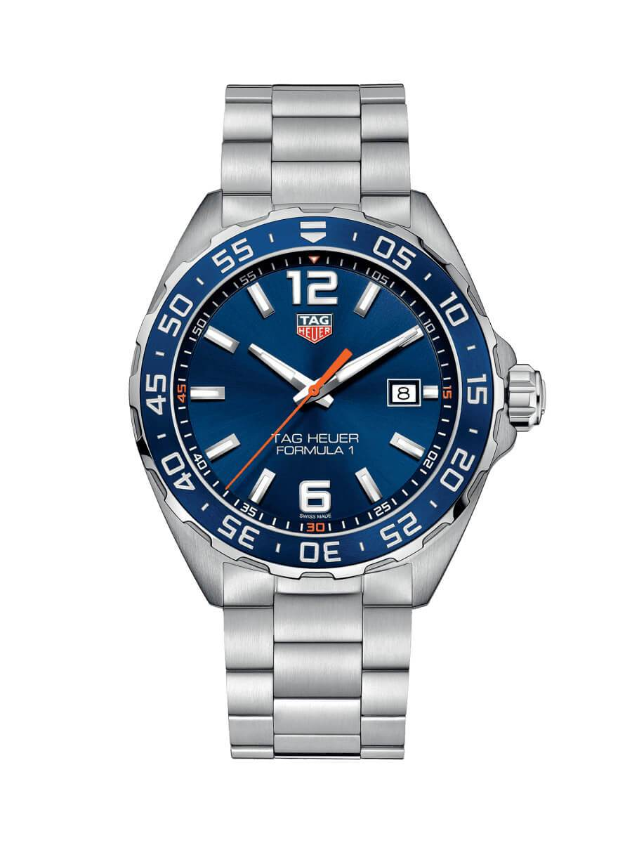 TAG Heuer Gents 43mm Formula 1 Stainless Steel Quartz Watch on Bracelet WAZ1010.BA0842