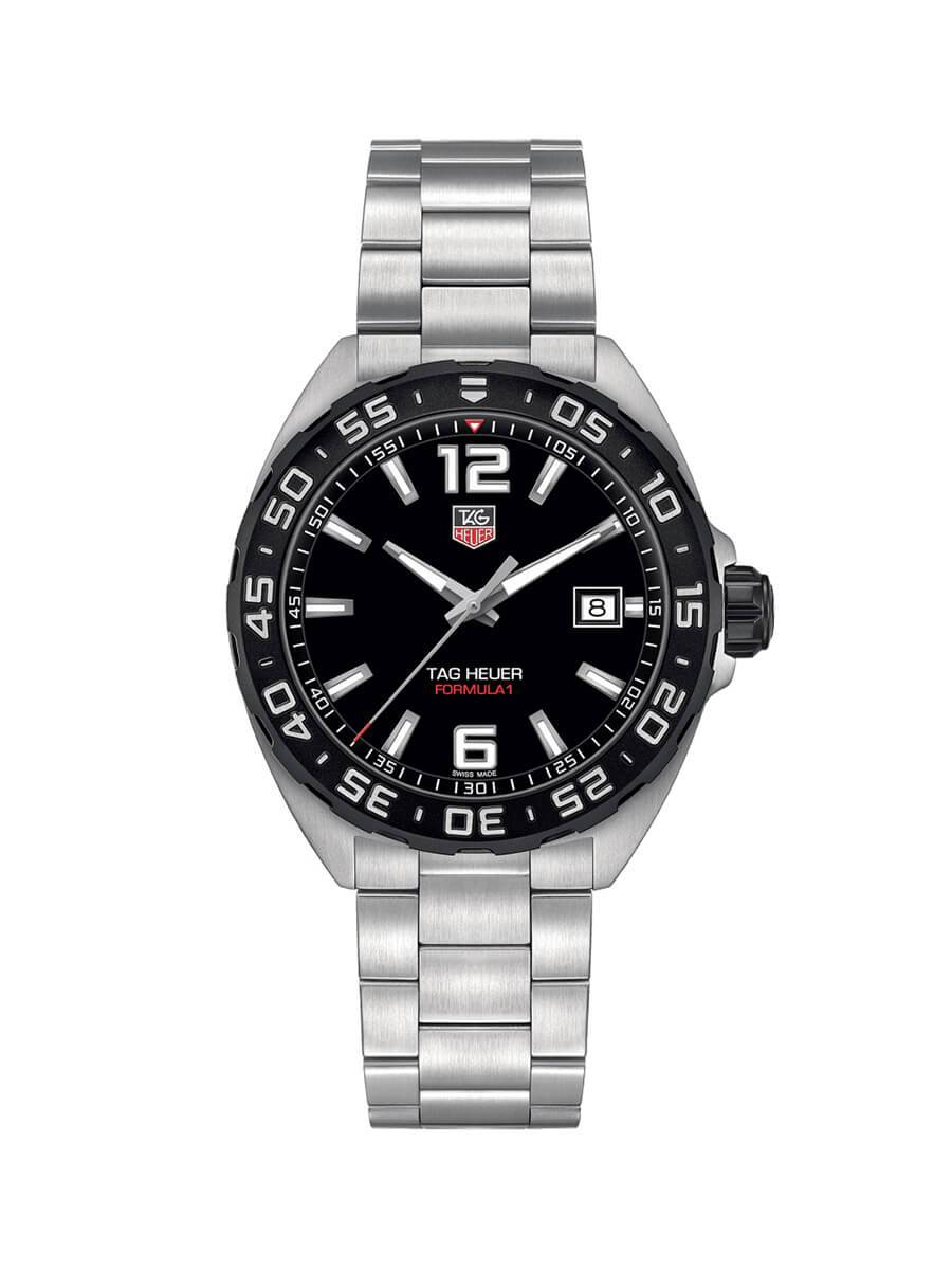 TAG Heuer Gents 41mm Formula 1 Stainless Steel Quartz Watch on Bracelet WAZ1110.BA0875