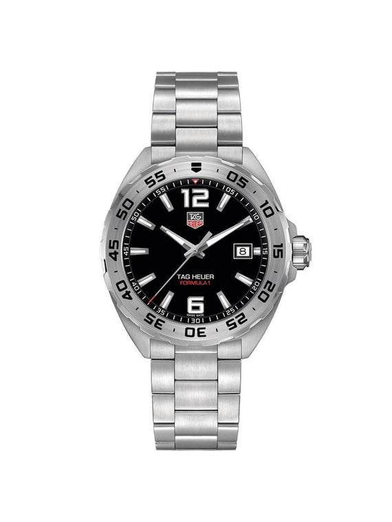 TAG Heuer Gents 41mm Formula 1 Stainless Steel Quartz Watch on Bracelet WAZ1112.BA0875