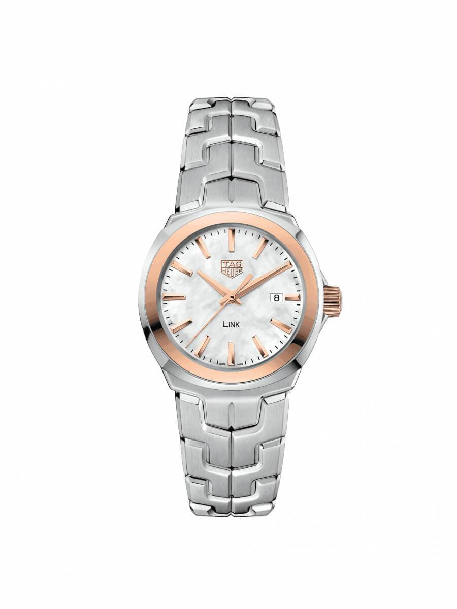 TAG Heuer Ladies 32mm Link Stainless Steel Quartz Watch on Bracelet WBC1350.BA0600