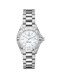 TAG Heuer Ladies 27mm Aquaracer Stainless Steel Quartz Watch on Bracelet WBD1411.BA0741