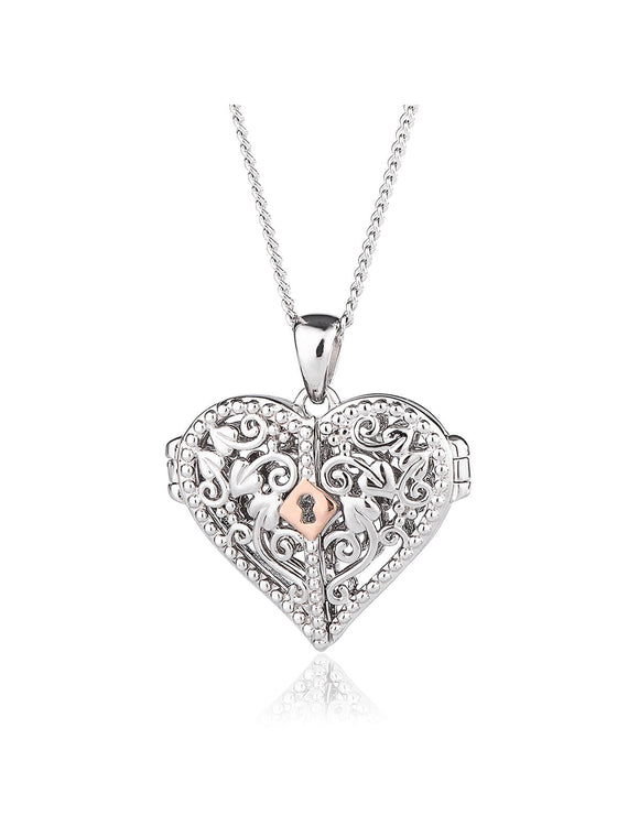 Clogau Kensington Lock Necklace XX3SKHLL