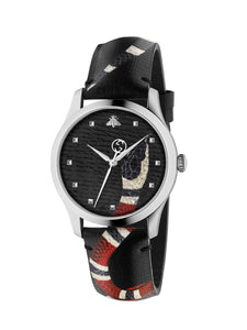 Gucci G-Timeless Snake Watch 38mm YA1264007A