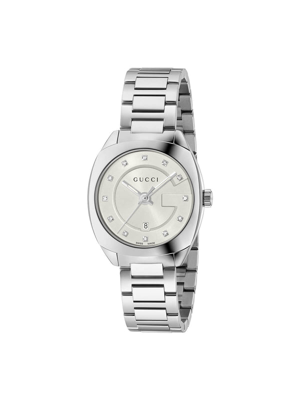 YA142504 Gucci Ladies 29mm Steel GG2570 Quartz Watch on Bracelet