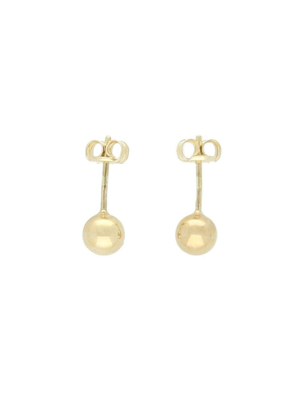 5mm Ball Stud Earrings in 9ct Yellow Gold