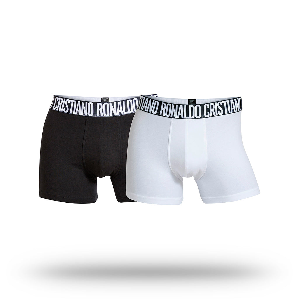 CR7 Mens 2 Pack Underwear - Cotton