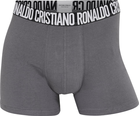 CR7 Men's Trunk 5-PACK Basics Organic Cotton [Blacks, Blues, Gray]