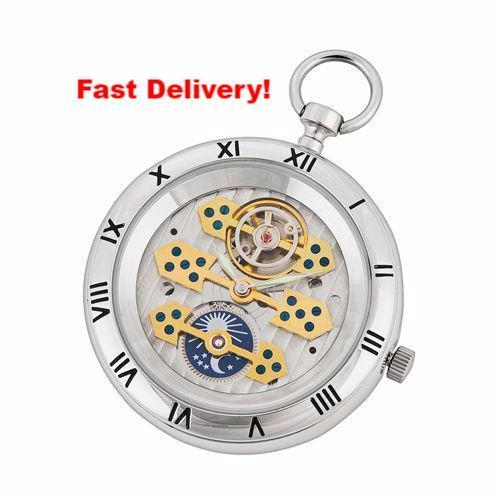 Pocket Watch Store A.E. Williams Silver Open Face Pocket Watch