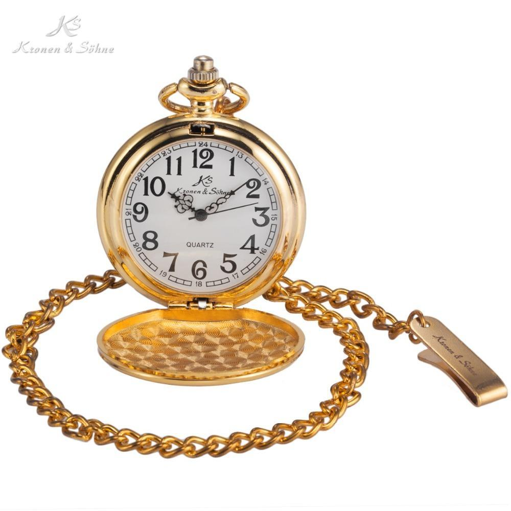 Pocket Watch Store Kronen & Söhne Classic Full Hunter Pocket Watch