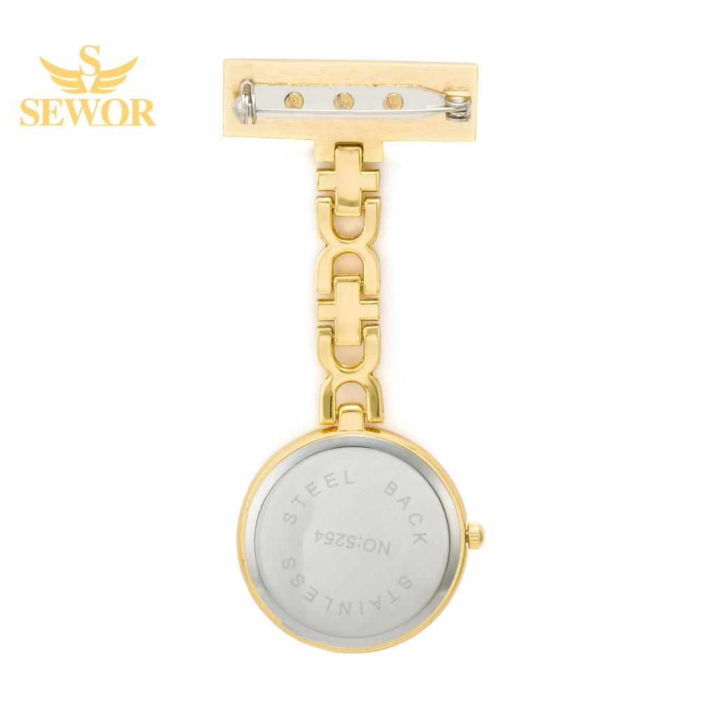 Pocket Watch Store SEWOR Nurse Pendant Watch with Clip