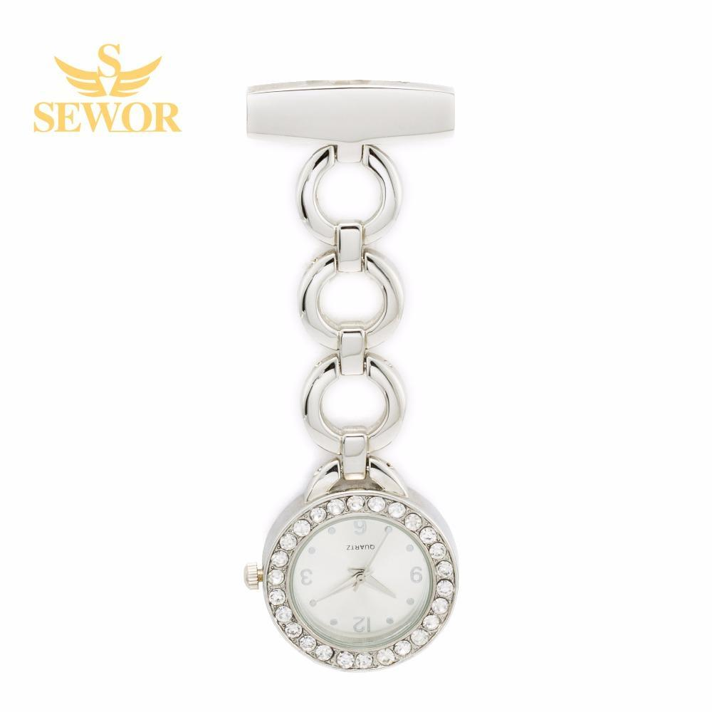 Pocket Watch Store SEWOR Three Ring Nurse Watch