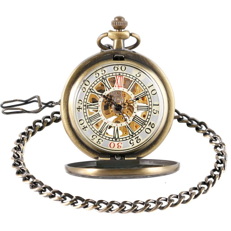 Elegant Vintage Full Hunter Pocket Watch - Pocket Watch Store