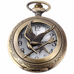 Quartz Skeleton Half Hunter Pocket Watch - Pocket Watch Store