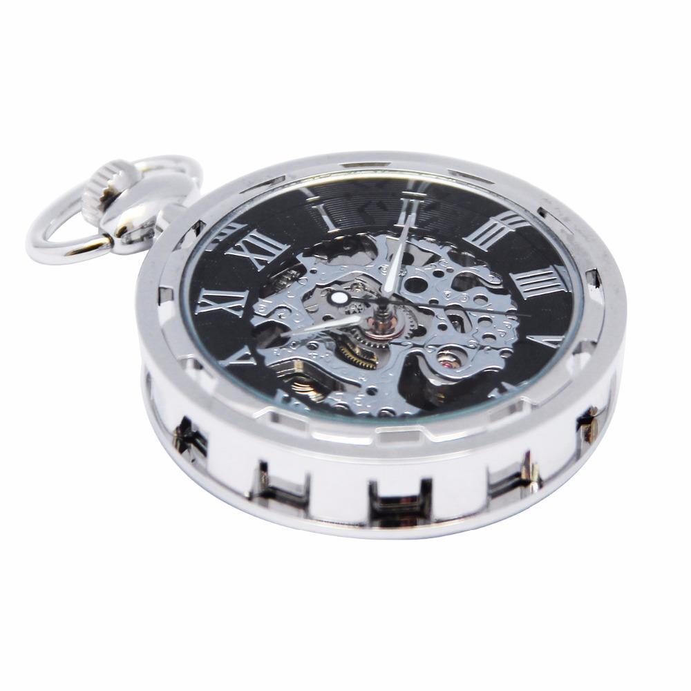 Modern Open Face Pocket Watch - Pocket Watch Store